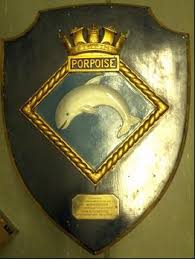 Adoption Plaque presented by the Lords Commissioners of the Admiralty to Workington to Commemorate the Adoption of HMS Porpoise during Warship Week Feb 28th 1942