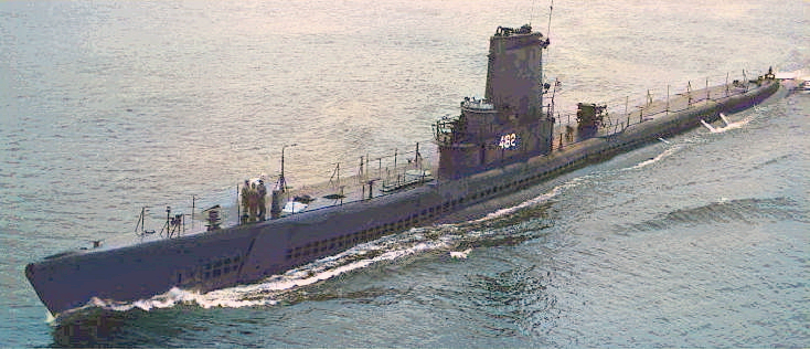 USS Irex (SS 482). First US Navy snorkel was perfected in this US submarine in 1947. Not a Guppy. In later years she appeared in a more streamlined form with guns etc removed and a plastic sail (AGSS 482)