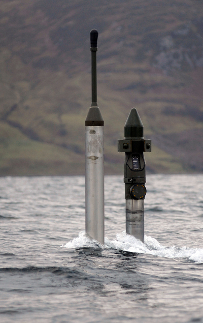Twin CM10 Optronic Masts used on the Astute Class