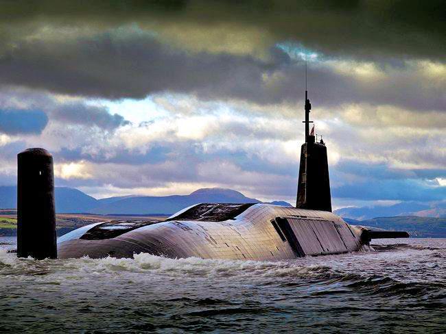 The History Of British Submarine Sonars