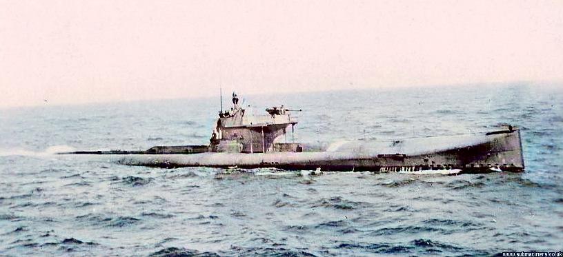 V1 at sea