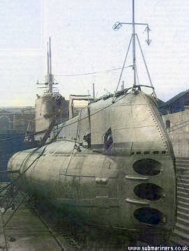 Otus in dry dock