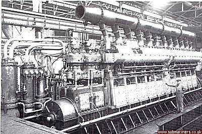 Starboard Engine of HMS Thames in works