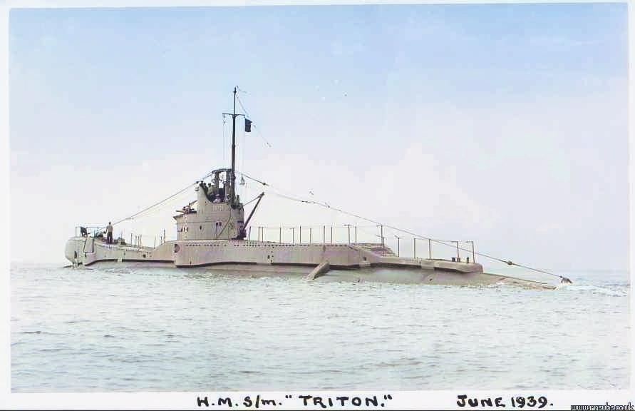 Triton in June 1939