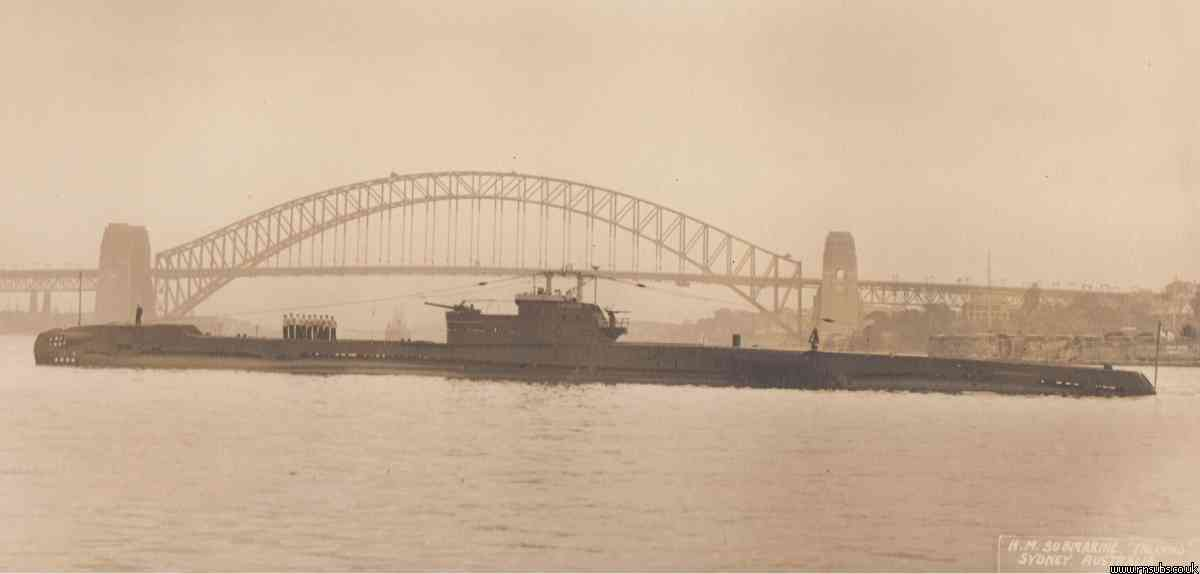 Tally Ho in Sydney Harbour
