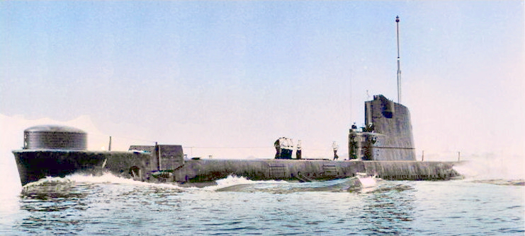 HMS Truncheon following 1953 conversion for greater speed.