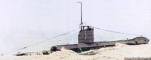 The Vickers Built Unity which served her short career in the hostile environment of the North Sea