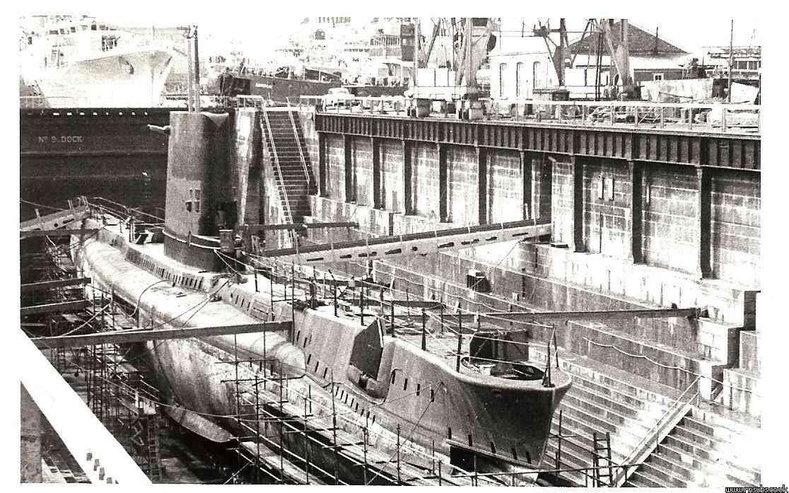 Artemis in refit 1969
