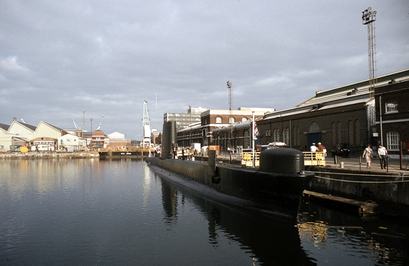 Otter at Portsmouth, 27 August 1983