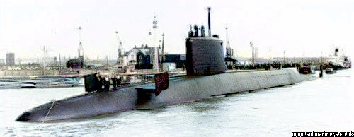 Barrow's second Polaris Sub - Repulse