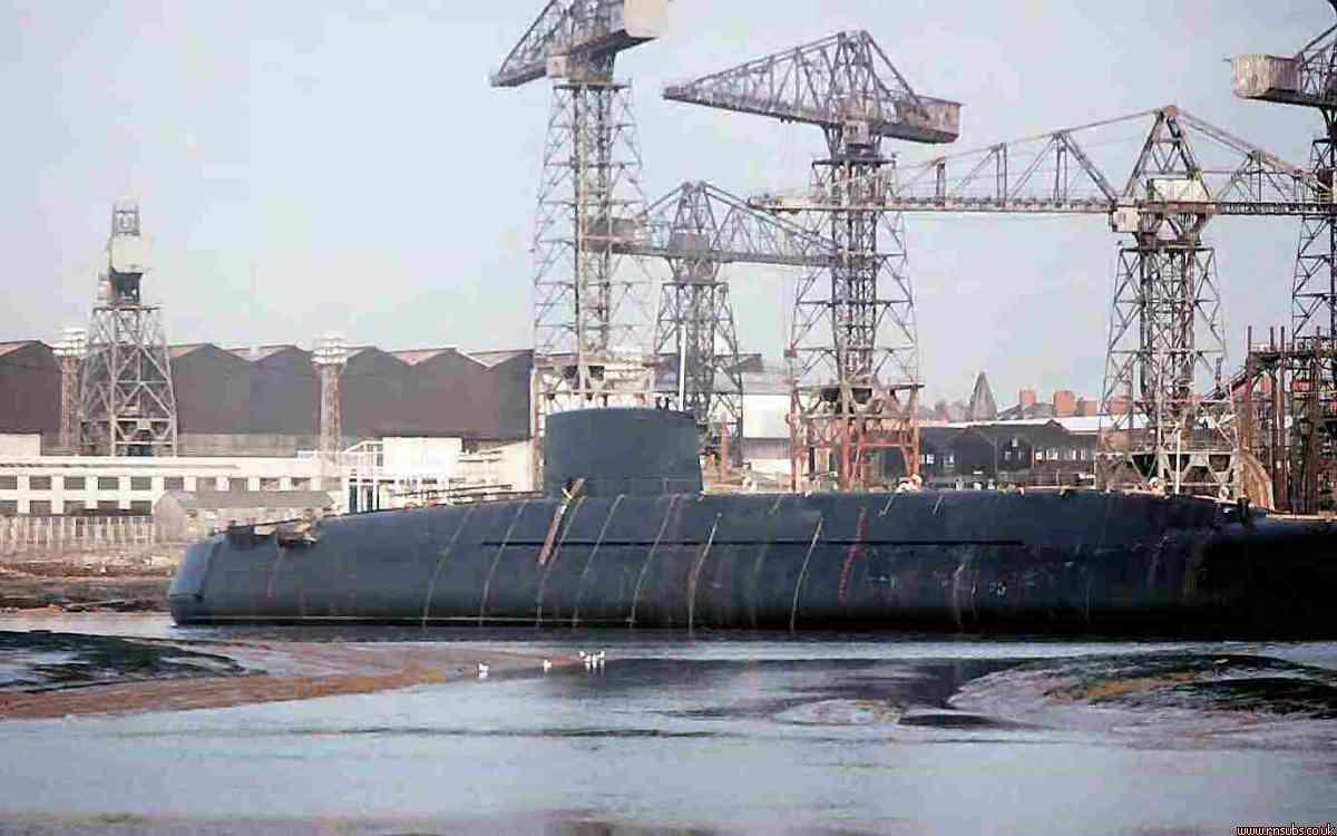 Repulse aground