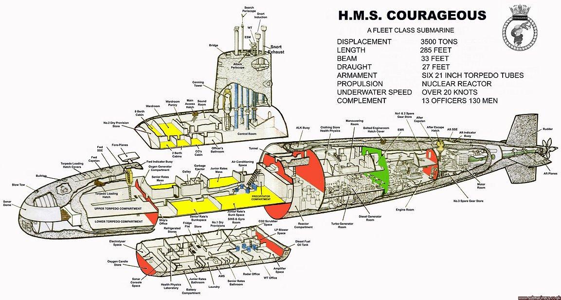 Courageous cutaway