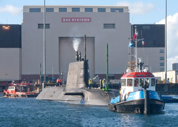 Artful trim dive trials in Devonsire Dock Barrow