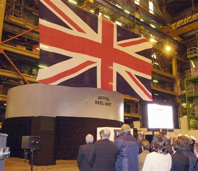 Artful Keel Laying
