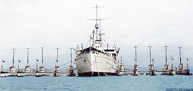 1928 - 1942: Medway (F25)