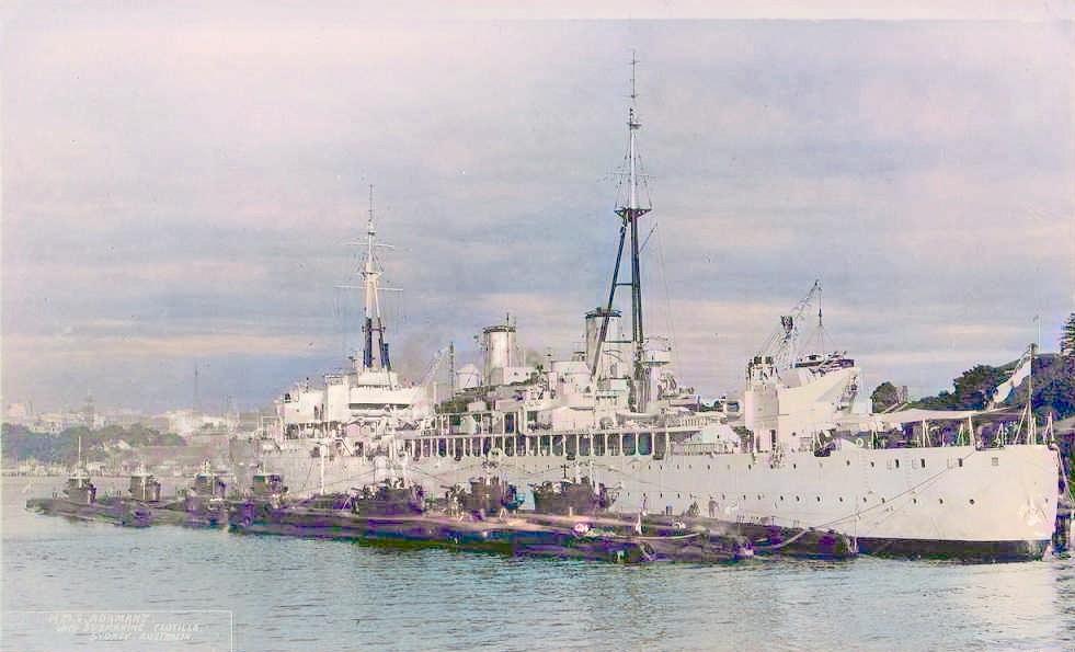 1940 - 1970: Adamant (F64)