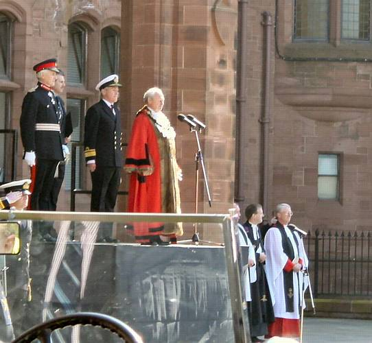 Speech by the Mayor of Barrow