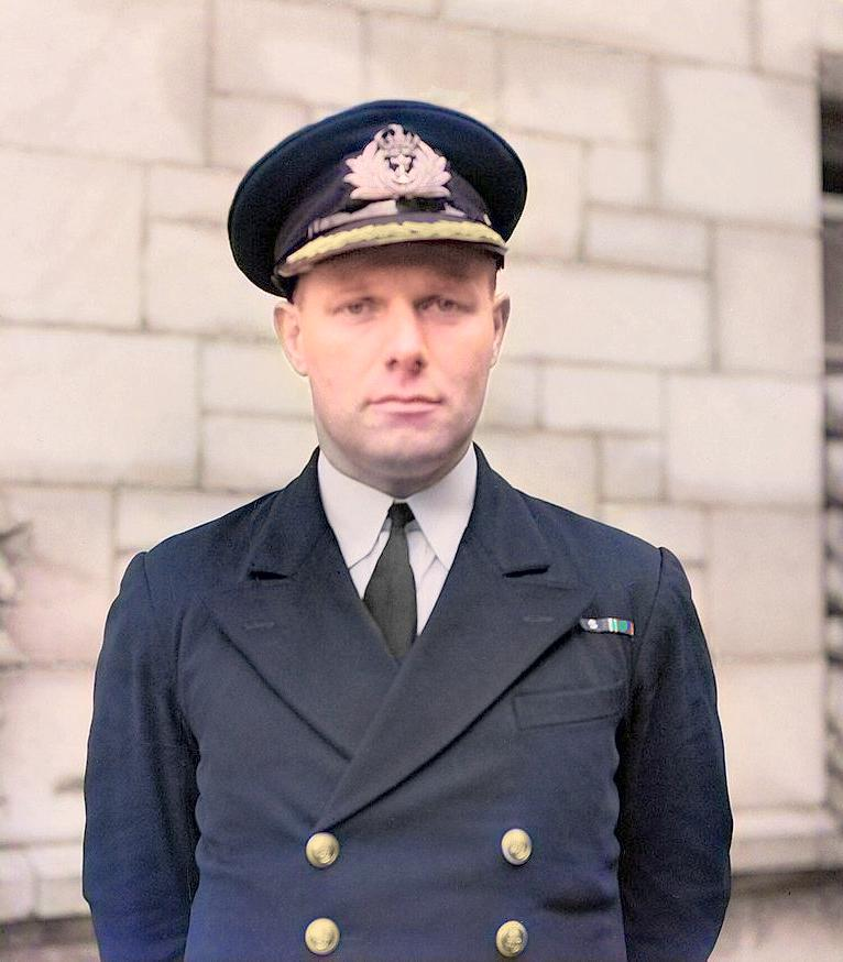 Rear Admiral Sir Anthony Miers, KBE, CB, VC, DSO*, MiD