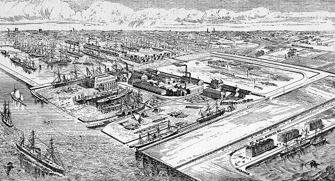 Earl's Works at Hull.1881