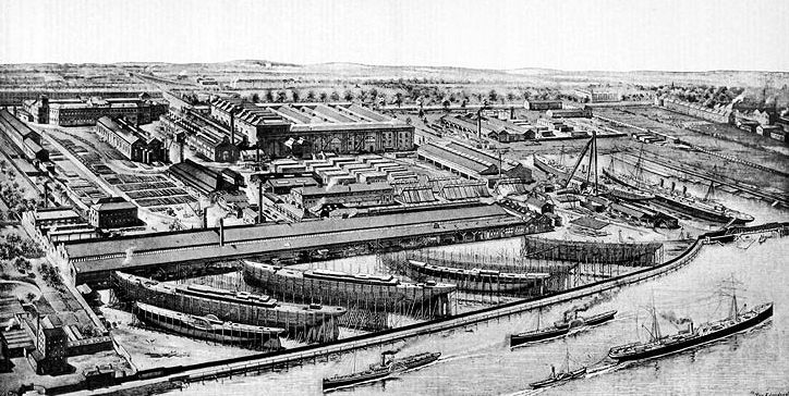 Fairfield Shipbuilding and Engineering Company 1891
